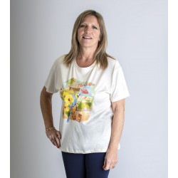 T shirt senior femme TAHITIA
