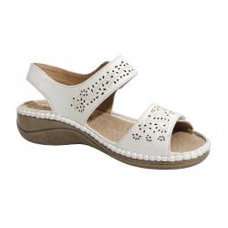 Chaussure femme senior nu-pieds CASSY