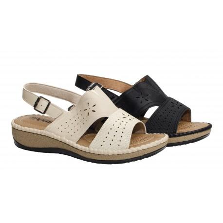 Chaussure femme senior nu-pieds CLARICE