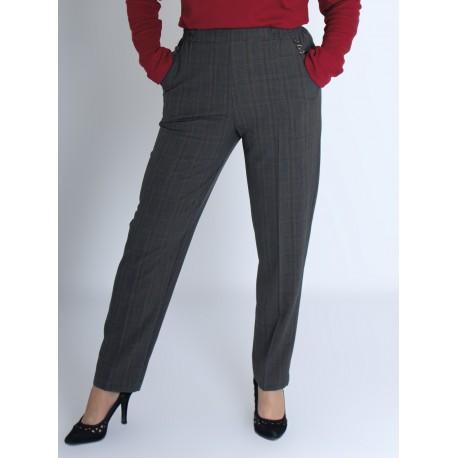 Pantalon femme taille élastiquée personne âgée PRUDENTIA