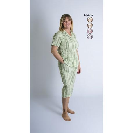 Pyjama senior femme MANCHES COURTES