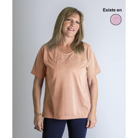 T shirt femme senior TERESA grande taille