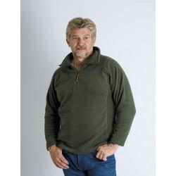 Pull homme senior polaire PAIKO fin de serie