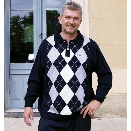 pull homme senior soldes PAOLO