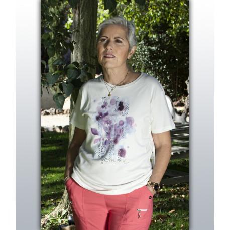 T shirt femme senior TASSNIM coton