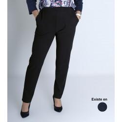 Pantalon femme taille élastiquée personne âgée LUCIE