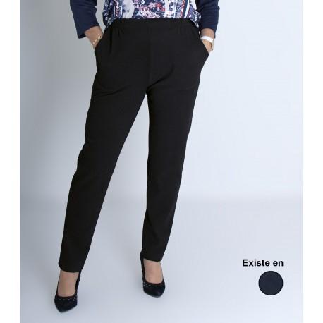 Pantalon pour femme avec taille élastiquée personne âgée LUCIE