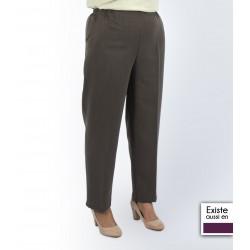 Pantalon femme taille élastiquée personne âgée PAZ