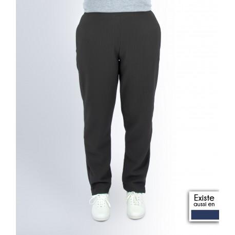 Pantalon femme taille élastiquée personne âgée PAQUERETTE