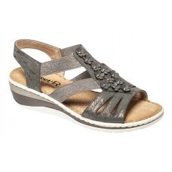 Sandales élastiquées SANDY femme senior