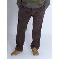 Pantalon taille élastique velours PARFAIT