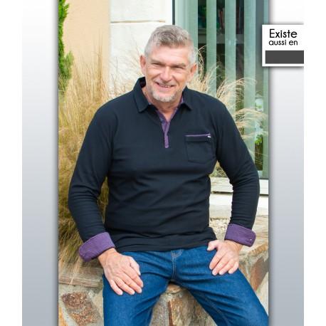 T shirt Polo homme senior PISTOL