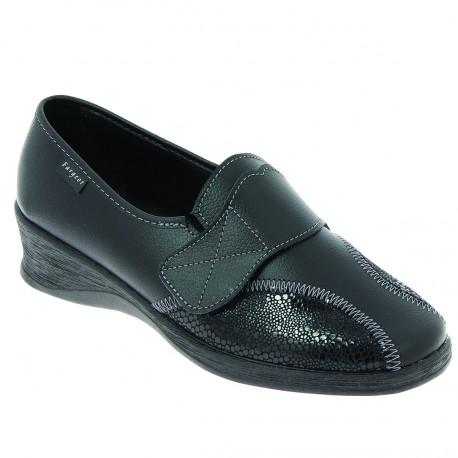 Chaussures personnes âgées femmes DELIA cuir