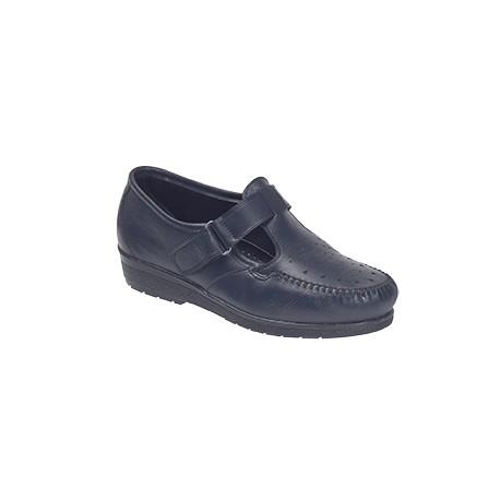 CLAIRE marine fin de serie chaussures femmes